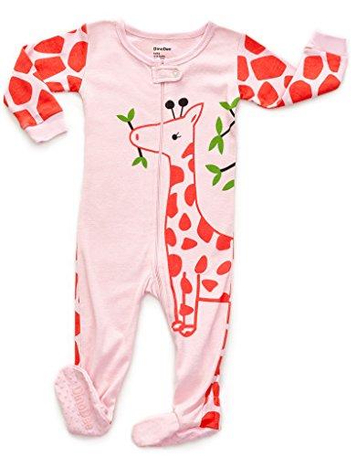 Footed Full Giraffe Pajama Sleeper 12-18 M