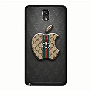 Anti-Scratch Phone Case for Samsung Galaxy Note 3 N9005,Stylish Beauty Gucci Brand Logo Series Case,Gucci Logo Samsung Galaxy Note 3 N9005 Cover Skin