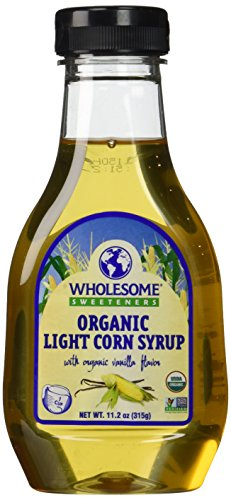 Wholesome Sweeteners Organic Light Corn Syrup, 11.2 Ounce - 6 per case ()
