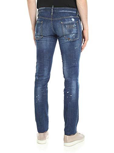Cotone Uomo Jeans Blu S71lb0514s30342470 Dsquared2 wx7tgWzRqq