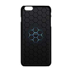 honeycomb with black background personalized high quality cell phone case for Iphone 6 Plus
