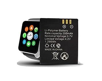 Smart Watch GT08 A1 Smartwatch batería de repuesto Accu 350 mAh ...