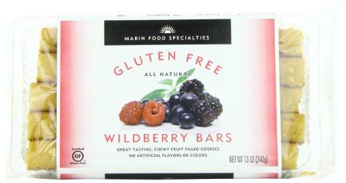 Marin Gluten Free Fruit Bar, Wildberry, 13 Ounce (Pack of 6)