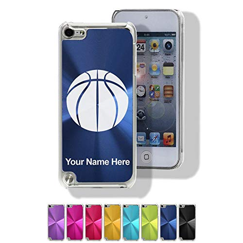 Aluminum Ipod Touch Case - Case for iPod Touch 5th/6th Gen - Basketball Ball - Personalized Engraving Included