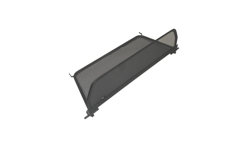 Black Wind Blocker 2006-2011 with Quick Release Fastener Wind Deflector for VW EOS Windstop - Foldable