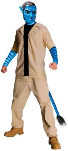 Jake Sully Costume - Standard - Chest Size 40-44