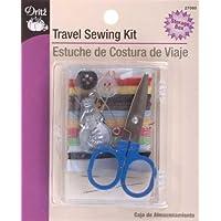 Dritz 27082 - Costura compacta de Viaje, 10 Colores de Hilo, 1