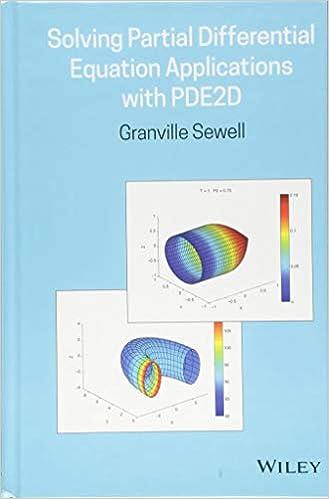 Amazon com: Solving Partial Differential Equation