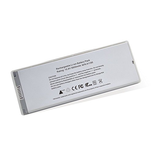 Apple Macbook Laptop Battery, NO1seller Top Laptop Replacement Battery Pack[Li-ion 5600mAh] for Apple 13