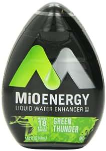 MiO Energy Liquid Water Enhancer, Green Thunder, 1.62 Ounce