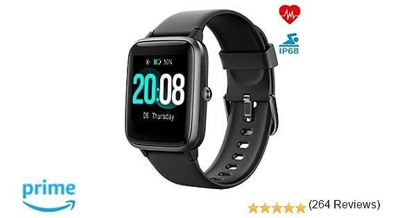 LIFEBEE Reloj Inteligente, Smartwatch Hombre y Mujer Pulsera ...