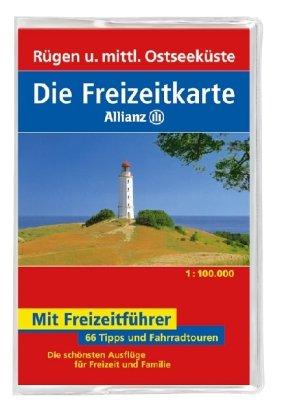 Rügen und mittlere Ostseeküste: 1:100000 (Niederländisch) Taschenbuch – Folded Map, Juni 2008 Mair freizeitkarte 50 MAIRDUMONT Ostfildern 3829717377