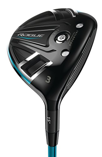 Callaway Golf 2018 Men's Rogue Sub Zero Fairway Wood, Right Hand, Synergy, 60G Shaft, Regular Flex, 3 Wood, 15 Degrees