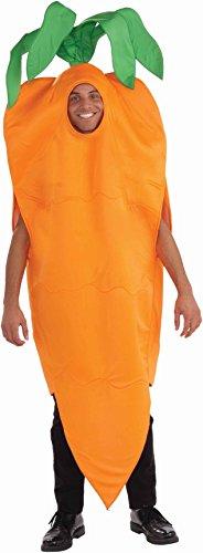 [Unisex - Adult Carrot Costume, Orange, One Size] (Mens Costumes)