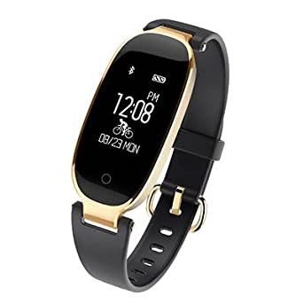 Amazon.com: Bluetooth Smart Fitness Tracker Mujer Sporst ...