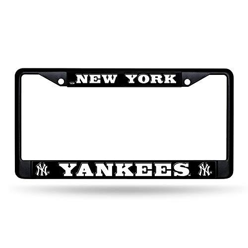 Rico Industries New York Yankees Black License Plate ()