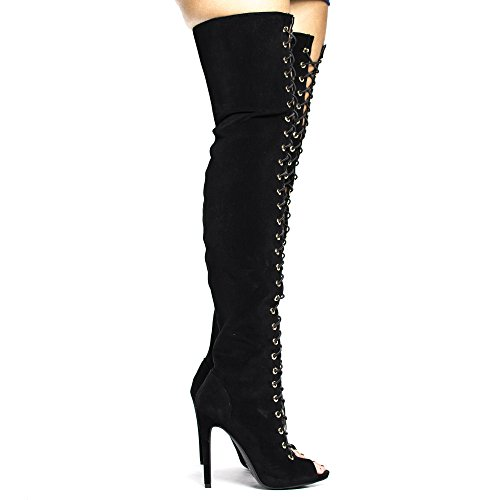 Thigh Corset Elastic Stiletto Over product image