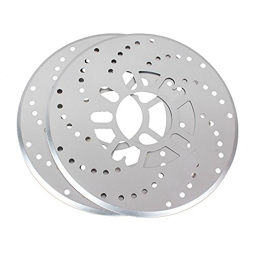 Aumo-mate 2pcs Universal Auto Car Wheel Disc Brake Racing Cover (Brake Mate)