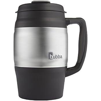 Bubba Classic Foam Insulated Desk Mug, 34 oz, Black