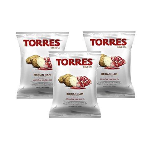 Torres Iberian Ham Chips 50g (3-Pack) ()