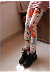 ChineOn Stylish Scrawl Paint Splash-ink women's Sexy Jeggings Tights Skinny Slim Pants Jean Leggings