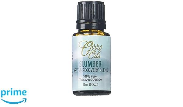 ovvio Aceites Slumber mezcla de aceites ayudar a sueño - Natural Lucha Insomnia, 100% Integral y natural Aromaterapia sueño ayuda al rescate formulado para ...