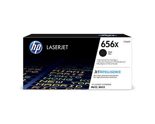 HP 656X (CF460X) Black High Yield Toner Cartridge for HP Color LaserJet Enterprise M652 M653