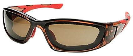 OPTOR 990.28.1205 Gafas de Protección, Negro y Naranja, L ...