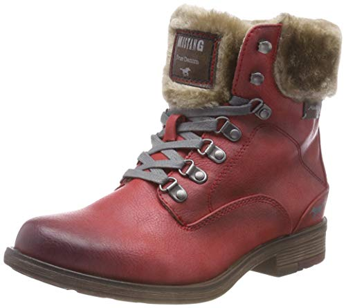Femme Stiefelette Rouge rot 5 Botines Mustang xvYwTEE