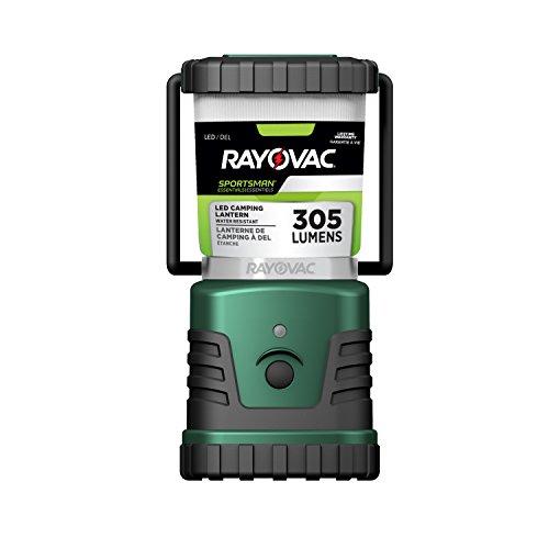 (Rayovac Sportsman LED 4W Lantern - 4 W - D - Rubber, Acrylonitrile Butadiene Styrene (ABS) - Black, Green)