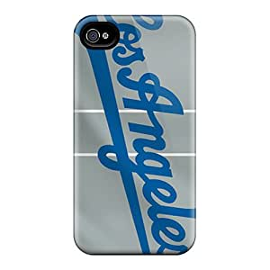 Forever Collectibles Los Angeles Dodgers Hard Snap-on Iphone 4/4s Case