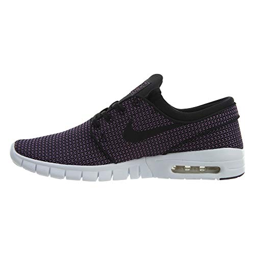 Nike Black Stefan Max Black Purple Janoski White Shoes Men's SB Pro SSqrC