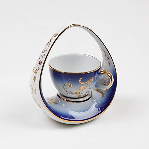 Traditional Design Handmade Copper Turkish Coffee Espresso Tea Cup Mug with Saucer CC-117