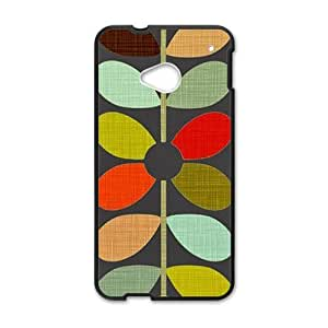 Happy Creative Grain Leaves Fahionable And Popular Back Case Cover For HTC One M7