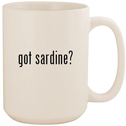 got sardine? - White 15oz Ceramic Coffee Mug Cup