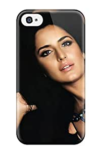 For Iphone 4/4s Premium Tpu Case Cover Celebrity Katrina Kaif People Celebrity Protective Case