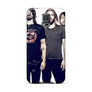 Bumper Hard Phone Case For Samsung Galaxy S5 (OcN7659HyOr) Support Personal Customs High Resolution Foo Fighters Band Skin