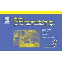 Manuel d'échocardiographie Doppler pour le patient en état critique (French Edition)