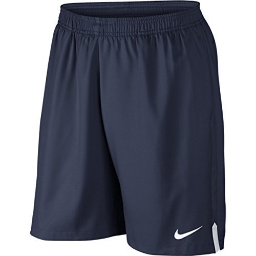 "Nike Men's Court 9"" Short, Midnight Navy/White, Small"