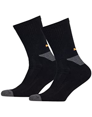 Mens Pack Of 2 Performance Sports Socks