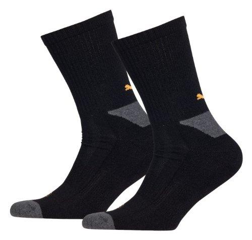 Puma Herren Socken Cell Crew 2er Pack, Black, 43-46, 141003001200043_200_043