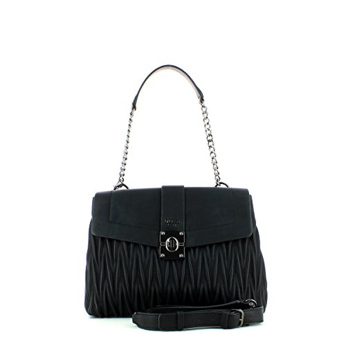 Black à Keegan cm Guess 37 Sac main YOggnqC