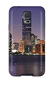 Fashion OTTgbqw5755yrQTC Case Cover For Galaxy S5(miami City )