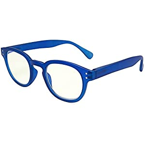 EYEGUARD Readers UV Protection,Unisex Spring Hinges Computer Eyeglasses ,Anti Glare Reading Glasses Anti Harmful Blue Rays