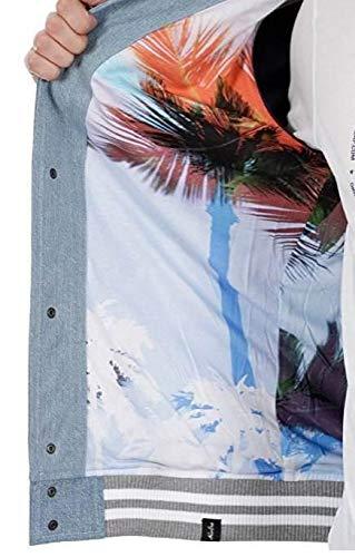 New Vibe Xs Miami Era Varsity Giacchetto Jeans Uomo 6Fvq6S