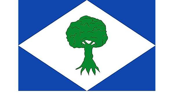 magFlags Bandera Large Noceda del Bierzo, León, España | Bandera Paisaje | 1.35m² | 90x150cm: Amazon.es: Jardín