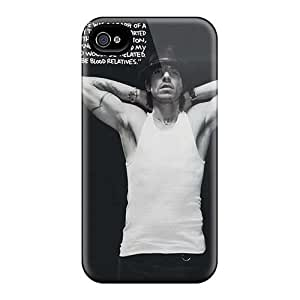 Shock Absorption Hard Phone Case For Iphone 4/4s (erZ14647hOYB) Allow Personal Design Realistic Red Hot Chili Peppers Image