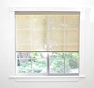 Keystone Fabrics Motor Controlled Indoor Roller Shade Aspen 60 By 72 Inch Home