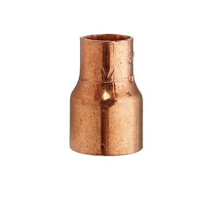 Cornat de soldadura Reductor manguito de cobre, 2 manguitos, a 22 mm, B