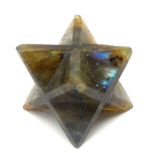 1 (ONE) Merkaba Star - Labradorite Merkabah Star - for sale  Delivered anywhere in USA